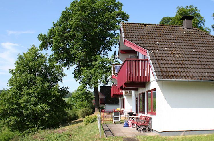 Het zomerhuis in het Seepark