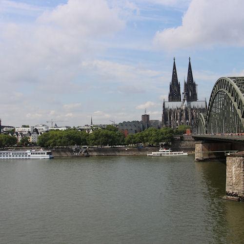 Dom in Keulen en de Rijn